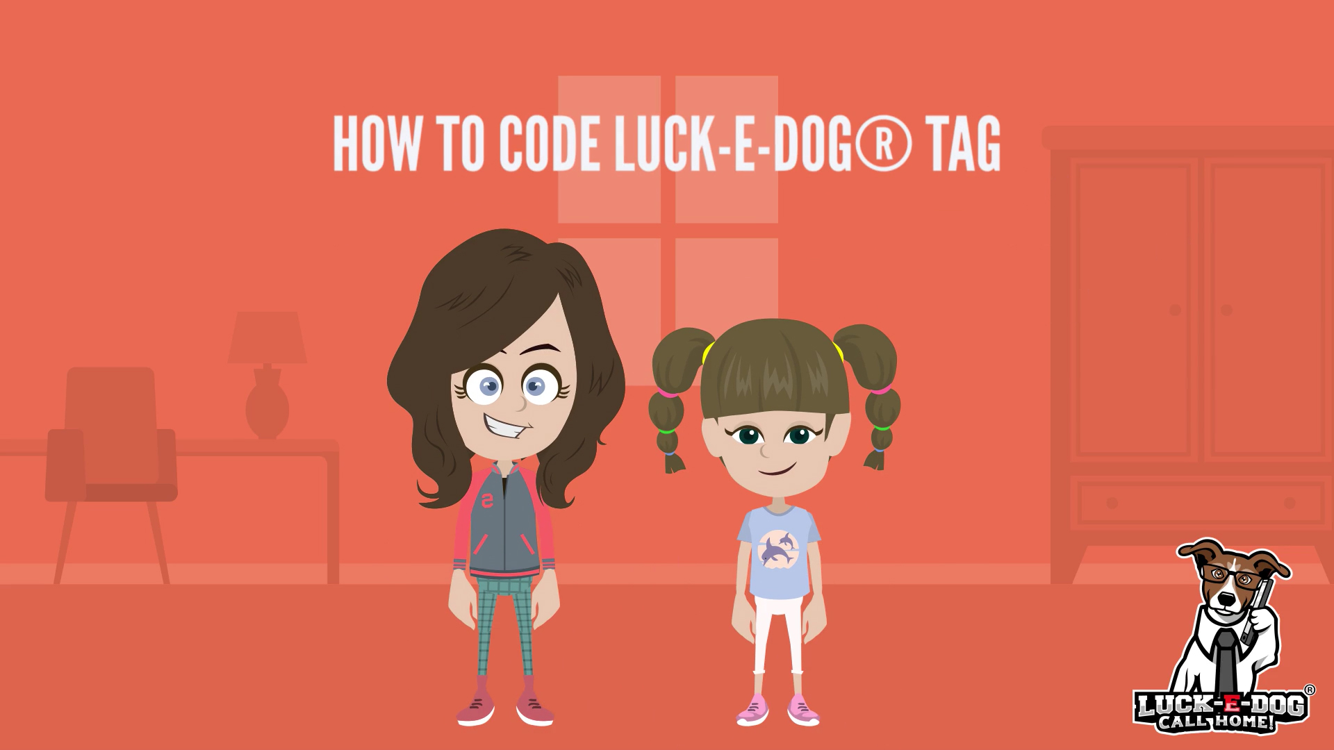 how to code luckedog tag