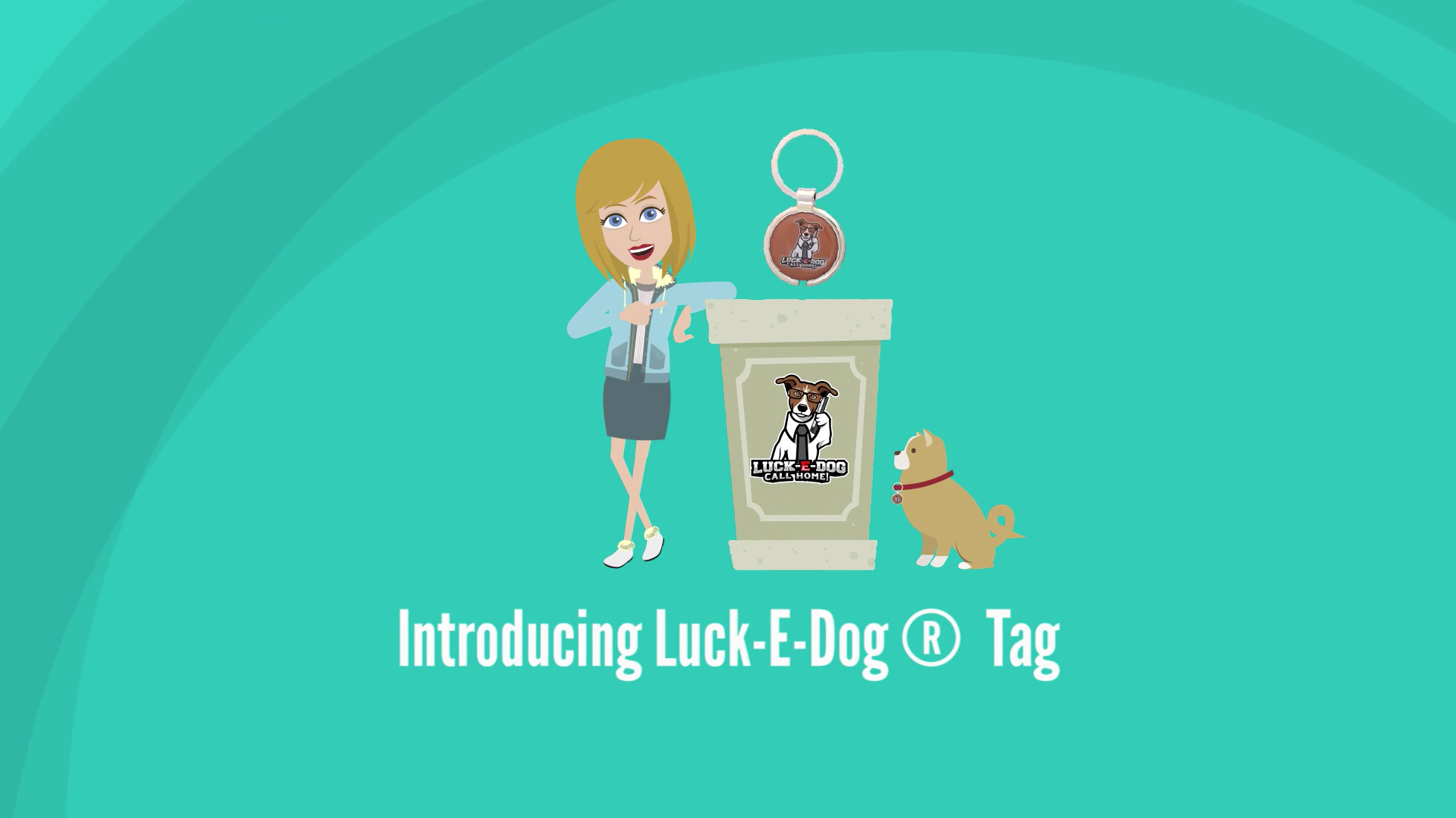 luck-e-dog tag